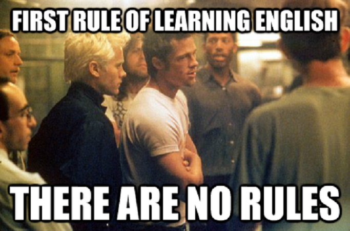 Don't worry!! If you want to learn English, our UK & US teachers provide online lessons. http://bit.ly/1XAndp0