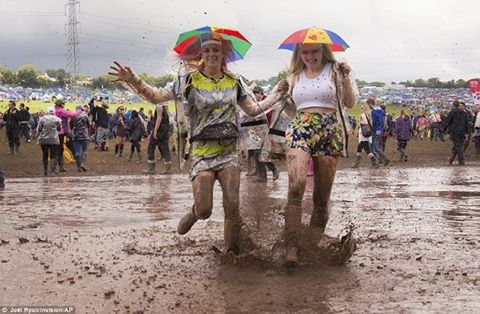 If you're heading to a festival you have to be prepared for all weather!! What's top of your kit list? #Proofessor