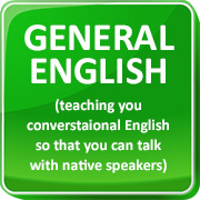 teaching you conversational English so you can talk with native speakers